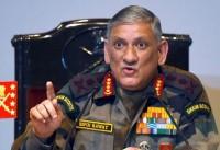 जनरल रावत ने कहा पाकिस्तान के साथ बोली और गोली एक साथ संभव नहीं