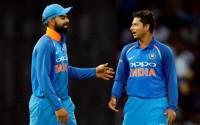 कोहली आईसीसी रैंकिंग में शीर्ष पर कायम, कुलदीप शीर्ष 10 में शामिल