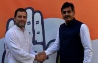 राहुल गाँधी से तेलंगाना के सबसे अमीर सांसद ने मुलाकात की