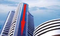 देश के शेयर बाज़ारो के शुरूआती कारोबार में गिरावट असर