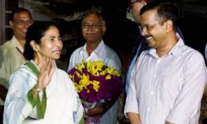 केजरीवाल ने कहा केंद्र ने ममता के रुख के कारण बंगाल को निशाना बनाया