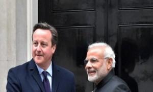 पूर्व ब्रिटिश प्रधानमंत्री कैमरून ने पीएम मोदी से मुलाकात की