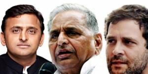अब नाराजगी छोड़ मुलायम सिंह सपा के साथ-साथ गठबंधन सहयोगी कांग्रेस के लिए भी मांगेंगे वोट