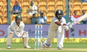 दूसरी पारी में भारत की मज़बूत शुरुआत, लंच तक बनाये 38/0 रन