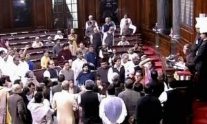 नोटबंदी-  संसद में लगातार तीसरे दिन भी भारी हंगामा, कार्यवाही बाधित,लोक सभा स्थगित,राज्य सभा भारी व्यवधान के बाद बार बार स्थगित