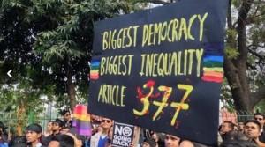 सर्वोच्च न्यायलय ने समलैंगिकता के मामले पर फैसला रखा सुरक्षित