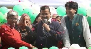केजरीवाल ने दिल्ली वासियों को दिया सी एम बनने का न्योता