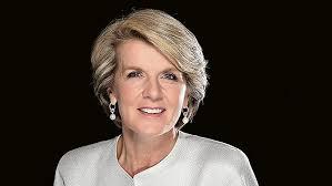 आस्ट्रेलिया की विदेश मंत्री जूली बिशप 18-19 जुलाई को नई दिल्ली यात्रा पर