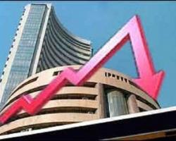 शेयर बाजार सेंसेक्स 318 अंक की गिरावट और निफ़्टी 89 अंक की गिरावट पर बंद हुआ