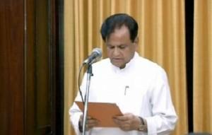 राज्यसभा सदस्य के तौर पर अहमद पटेल ने शपथ ली