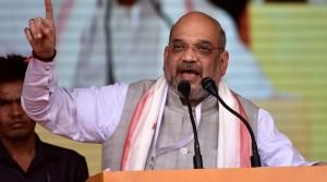 अमित शाह ने कहा सपा, बसपा, कांग्रेस के लिए वोटबैंक हैं घुसपैठिए