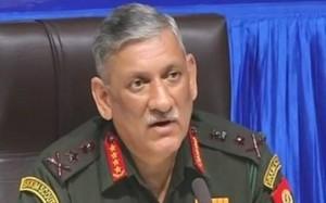 सेना प्रमुख ने कहा कश्मीर पर वार्ताकार की नियुक्ति से सैन्य अभियान प्रभावित नहीं होगा