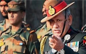 सेना प्रमुख जनरल रावत ने यूएन की रिपोर्ट को ख़ारिज किया