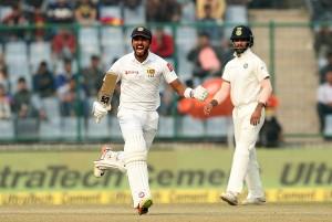 शतक जमाकर चांदीमल ने संभाली श्रीलंका की बागडोर, तीसरे दिन की समाप्ति तक बनाये 356/9 रन