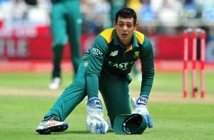 चोटिल डी कॉक वनडे और टी-20 सीरीज से बाहर