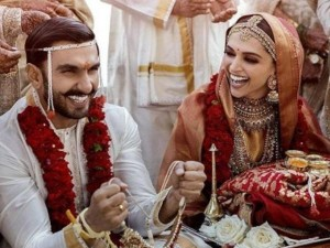 दीपिका-रणवीर एक-दूसरे के हुए, शादी की पहली तस्वीर जारी