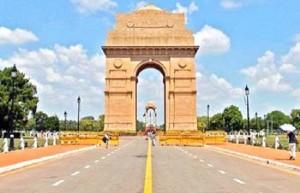 राजधानी दिल्ली में धूपभरी सुबह