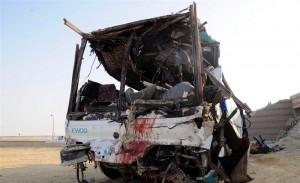 मिस्र में सड़क दुर्घटना, 14 लोगो की मौत