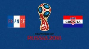 फीफा विश्व कप 2018 : आज फ्रांस और क्रोएशिया के बीच खिताबी मुक़ाबला