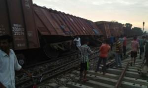 ओडिशा में मालगाड़ी पटरी से उतरी