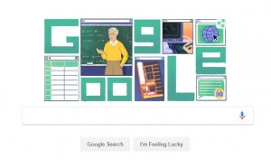 जाने माने कंप्यूटर वैज्ञानिक माइकल डर्टोजस को गूगल-डूडल ने दी श्रद्धांजलि