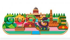गूगल ने 70वें गणतंत्र दिवस पर बनाया खास डूडल