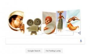 भारतीय फिल्मकार वी. शातांराम के सम्मान में गूगल ने बनाया डूडल