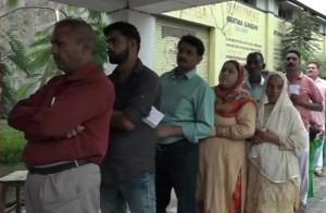 जम्मू कश्मीर निकाय चुनाव में दूसरे चरण के लिए मतदान शुरू