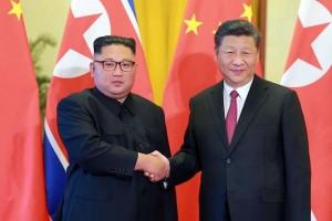 किम जोंग ने चीनी राष्ट्रपति से उत्तर कोरिया पर लगे प्रतिबंध हटवाने की अपील की