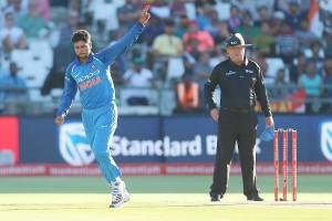 कुलदीप-चहल की फिरकी में फिर उलझी अफ्रीकी टीम, भारत ने 124 रन से जीता तीसरा वनडे