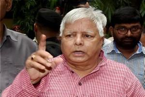 लालू ने कहा भाजपा को झूठ बोलने में 100 में से 100 अंक