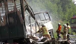 मेक्सिको में सड़क दुर्घटना में 10 लोगो की मौत