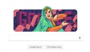 गूगल ने मधुबाला की 86वीं जयंती पर डूडल पर इस तरह किया याद