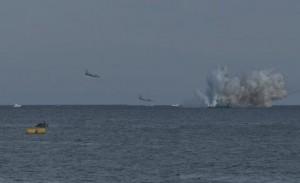 इटली में एयर शो के दौरान सैन्य विमान दुर्घटनाग्रस्त