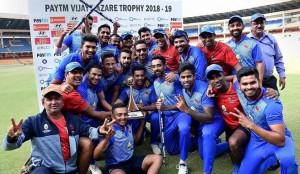 मुंबई ने दिल्ली को 4 विकेट से हराकर तीसरी बार जीती विजय हजारे ट्रॉफी