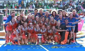 नीदरलैंड महिला हॉकी विश्व कप में आयरलैंड को हराकर बना वर्ल्ड चैंपियन