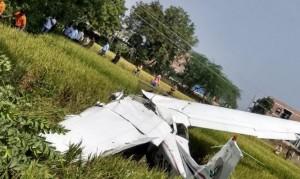 तेलंगाना में प्राइवेट जेट क्रैश हुआ, पायलट सुरक्षित