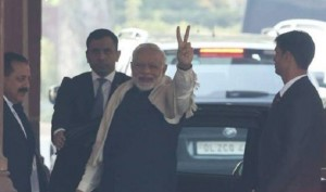 प्रधानमंत्री मोदी ने गुजरात, हिमाचल के रुझानों पर खुशी जाहिर की