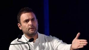 राहुल गाँधी ने कहा भारत में रोजगार सृजन के लिए चीन के तरीके की जरूरत नहीं