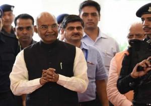 राजग के राष्ट्रपति उम्मीदवार कोविंद ने महाराष्ट्र में अपने लिए समर्थन मांगा