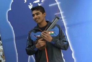 सौरभ चौधरी ने यूथ ओलिंपिक में जीता गोल्ड मेडल