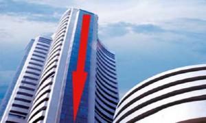 देश के शेयर बाज़ारो के शुरूआती कारोबार में गिरावट का असर