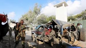 सोमालिया में एक आत्मघाती हमले में 13 लोगो की मौत