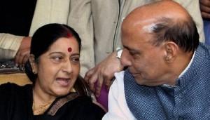 एनएसए से सुषमा, जेटली, राजनाथ ने मुलाकात की