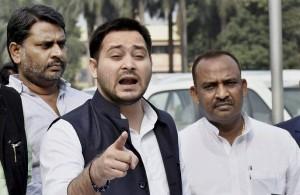 तेजस्वी यादव ने नीतीश कुमार पर अपराधों को लेकर हमला बोला