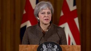 थेरेसा ने कहा अमेरिका में इस्पात के आयात पर शुल्क लगाने से ब्रिटेन निराश