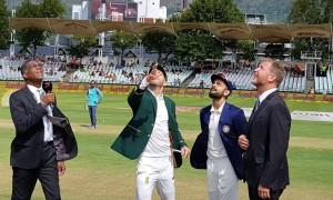 दक्षिण अफ्रीका ने टॉस जीता, पहले बल्लेबाज़ी का निर्णय