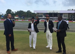 भारत ने टॉस जीता, पहले बल्लेबाजी का फैसला