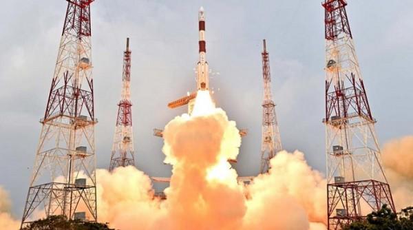 Image result for आईआरएनएसएस-1आई का सफल प्रक्षेपण किया