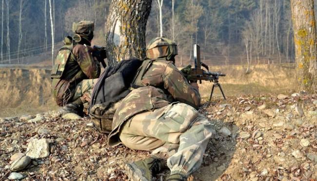 जम्मू कश्मीर मे सीमा पर हुए धमाके में एक जवान शहीद
